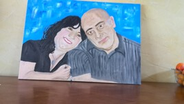 évolution des Portraits de Jennifer et de Stéphane