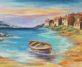 petite barque au soleil