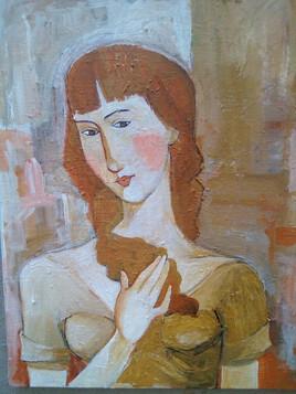 """portret jeune fille"""