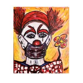 Le clown au masque