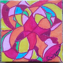 Fleurs Ylang Numéro 1/4 (Série fleurs, Fruits, Plumes et oiseaux, Insectes).