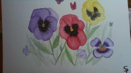Pensée florale