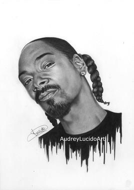 Portrait de Snoop Dog