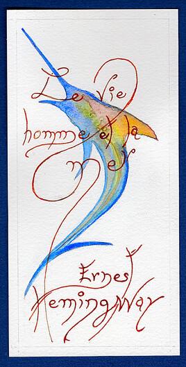 """épisode 1 Illustration """"Le viel homme et la mer"""""""