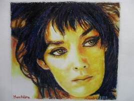 La fille aux yeux d'or