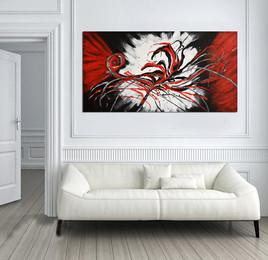 MODERN RED FLOWER