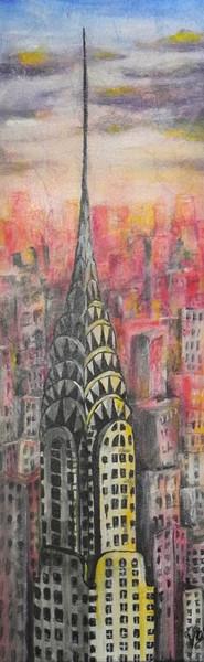 Peinture Le Chrysler building