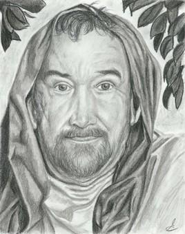 Matthieu, évangéliste  (interprété par Claude Lemieux)