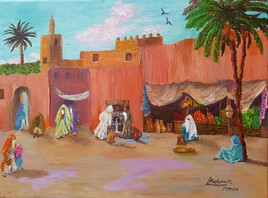 Old Moroccan Street