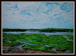 Auray ; la rivière du Bonno
