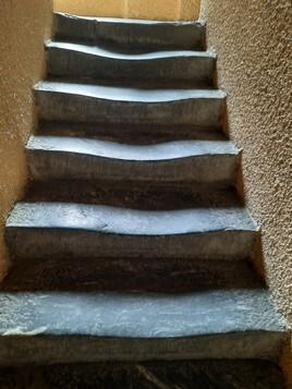 Escalier mouvant