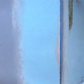 scissure de mer sous trait bleu