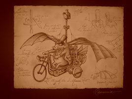 Le tricycloptère de monsieur Rat