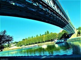 le pont Eiffel d' Andresy / Conflans ..