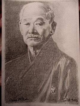 Portrait de Jigoro Kano