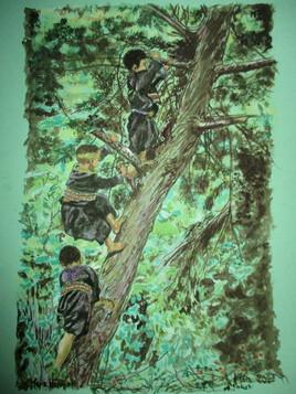 Les grimpeurs