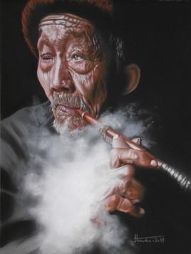 dans le fumoir