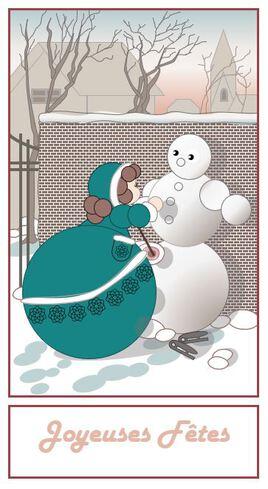 Les Célestines - Bonhomme de neige