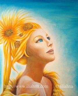 Soliahma, la femme soleil
