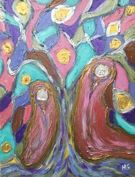 Etrange tristesse sous l'arbre de vie