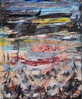 Peinture rivage