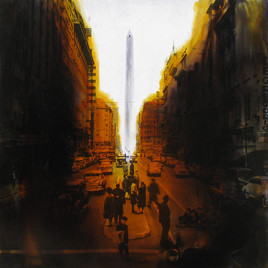 Smog…Avenida Corrientes…aroma a pizza y a pomada de zapatos…
