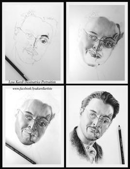Évolution Jack Huston - Richard Harrow, Boardwalk Empire