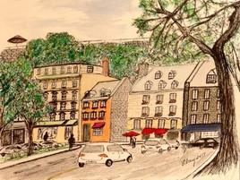 Rue du Marché-Champlain, Québec