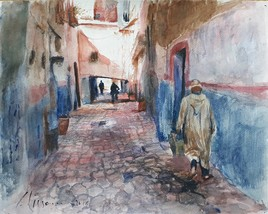 Ruelle à Taroudant.  Maroc