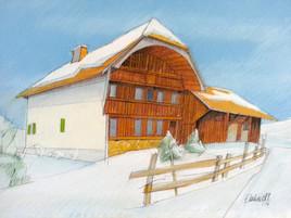 Ferme à Hauteville (Suisse)