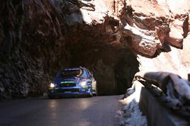 SUBARU WRC-Rallye du Monte Carlo le 20/01/2006