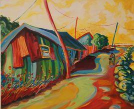 Les cabanes ostréïcoles de Saint Trojan. Ile d'Oléron