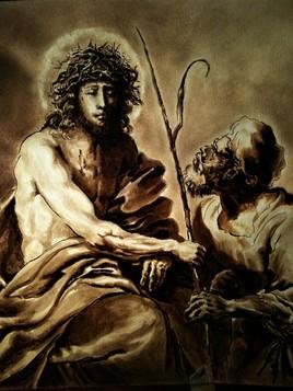 Apres Giovanni Francesco Barbieri, dit Guercino ou le Guerchin
