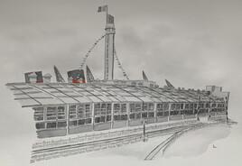 La gare maritime du Havre en 1935