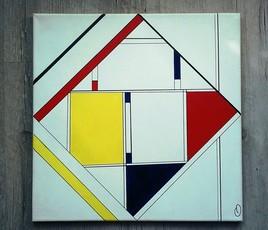 EMPTHYONE  inspiration Mondrian