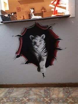 Tigre mural