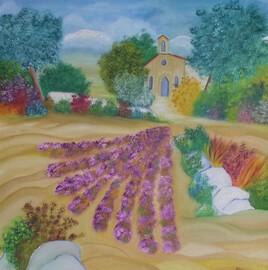 La colline aux lavandes