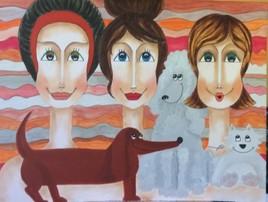 Nous les Filles  - On a du chien !!!