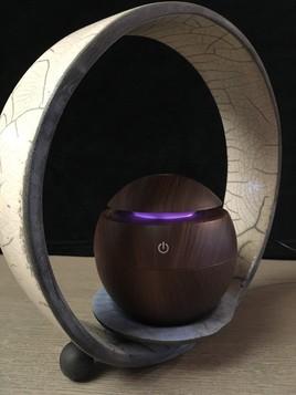 étude pour un diffuseur d'eau de parfum et raku
