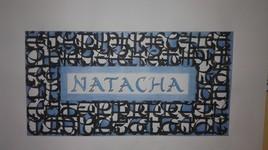 Natacha - Prénom calligraphié
