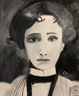 """""""Inspirée d'une photo de Gabriele Münter"""""""