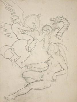 Persée, Pégase et Andromède