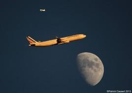 Airbus et la Lune