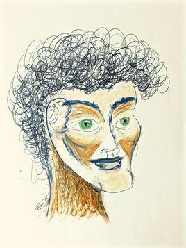 Dessin Portrait d'un jeune homme / Drawing Portrait of a young man