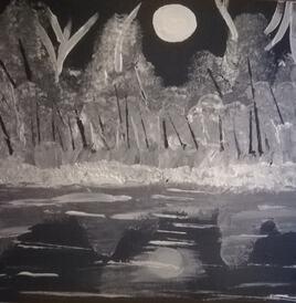 Nuit sous la pleine lune