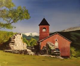Chapelle, région de Digne-les-Bains