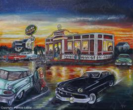 Diner route 66 -