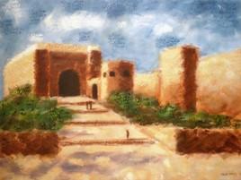 Kasbah des Oudayas II (autre angle de vue)