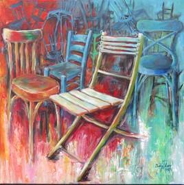 Chaises abandonnées