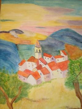 village et vallée